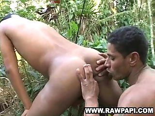 Forest latinos drilling & ass licking