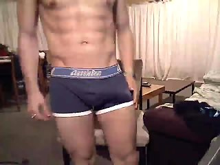 Raunchy Dude Abusing Himself On Cam