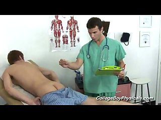 College boys medical examination