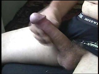 Close-Up Wanking Ends With Balls Explosion