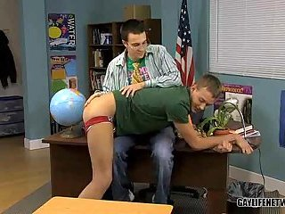 Crazy Pounding In A Classroom