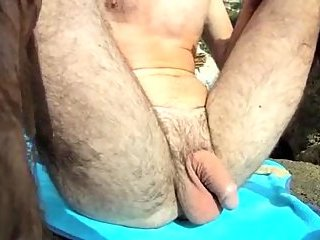 Beach Guy Eating Out POVs Dick