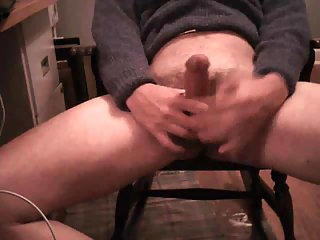 Thugs horny arousing sexually on the chair