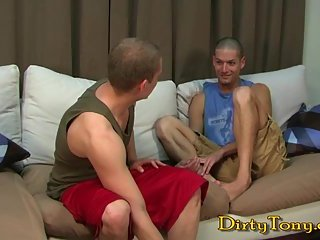 Blowing Twinks Trying Anal Screwing