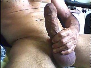Huge cock stimulation