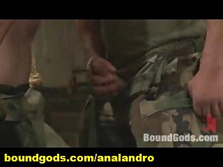 Military Humiliation in Bondage