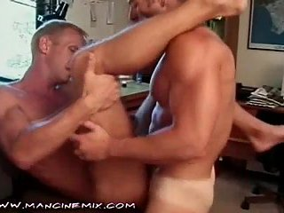 Straight buddies crazy bonking