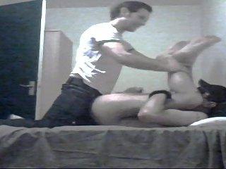 Fucked Stud Eating Cum From Condom