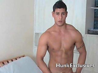 Muscular hunk Diego
