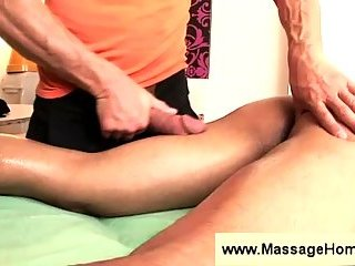 Massage and ass licking fiesta