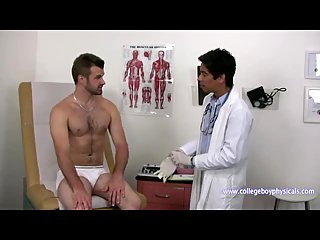 Hot Hunk Gets Examined By His Doc