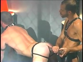 Strong studs bound torturs & huge dildo fuck & rimming