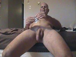 Mature Gay Solo Masturbation