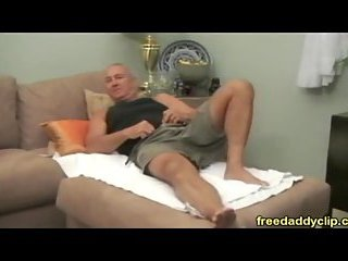 Mature flaming relaxation & dildo playing