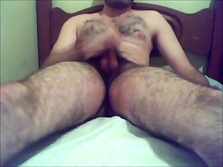 Hot fingering beating off