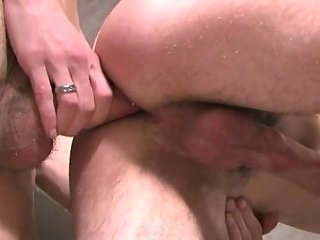 Creampie pleasure after barebacked sex