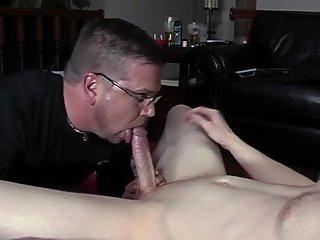 Depraved cock sucker pleasing pov