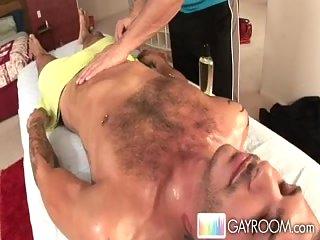 Erotic massage pleasure for horny hunk