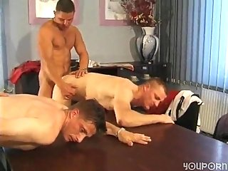 Group Gay Banging