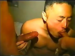 Asian buddy perfect sucking