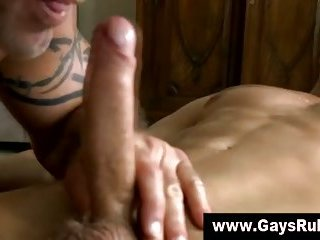 Not so straight guy sucked and fucked