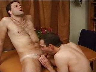 Steamy gay fuck for naughty twosome