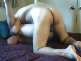 Depraved guys having hot copulation