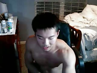 Asian Home Jerker Pleasing Himself