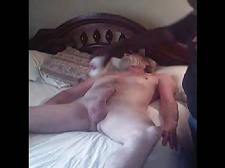 Fervent handjob for mature