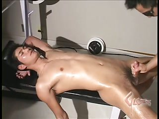 Asian Stud Gets Hot Domination Stuffing