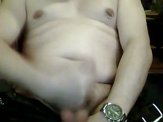 Mature Gay Jizzy Wanking On Cam