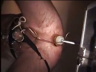 Wild ass hole drilling with fucking machine