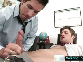 Andrew getting his big fat dick sucked