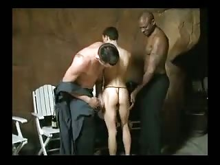 Interracial Threeway Hot Banging