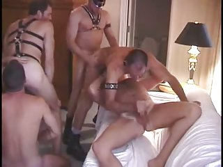 Hot Gay Guys Fetish Orgy