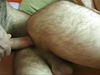 Mad Threeway Jizzy Coition For Bear