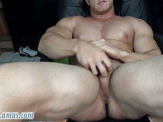 Cute Guy Solo Masturbation Hot Protein Shake