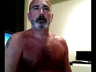 Lewd Gay Bear Abusing Himself