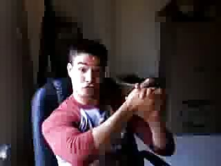 Handsome Webcam Jacker Teasing
