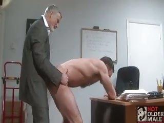 Horny teachers fuck & rimm at school