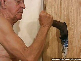 Daddy Sucking Black Cock