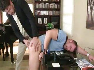 Horny guys in tats ass pounding
