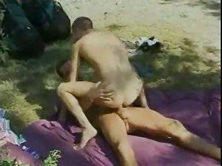 Furious Guys Banging In Condom