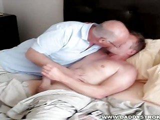 Home Again - Daddy And Admirer Fun
