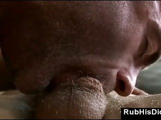 Straight Guy Fucked After Massage