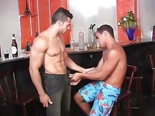 Drunk latinos hunks lavish cumshot