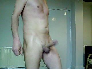 Amateur mature gay dancing wanking