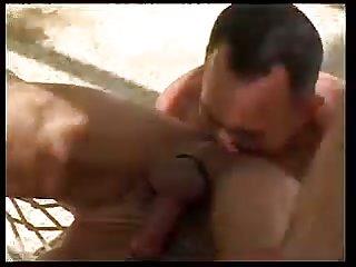 Hot Guys Enjoy Toying Outdoor Fucking