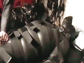 Bdsm fucking machine pleasure
