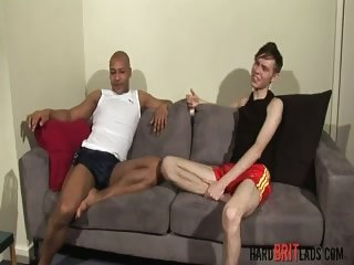 Interracial big cocks sucking